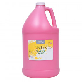 Little Masters Tempera Paint, Pink, Gallon