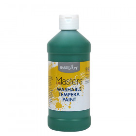 Little Masters Washable Paint, Green, 16 oz.