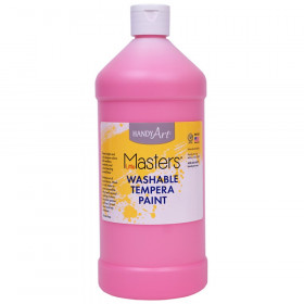 Little Masters Washable Tempera Paint Quart, Pink