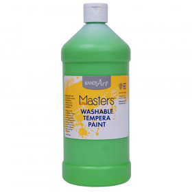 Little Masters Washable Tempera Paint Quart, Light Green