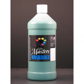 Little Masters Washable Tempera Paint, Green, 32 oz.