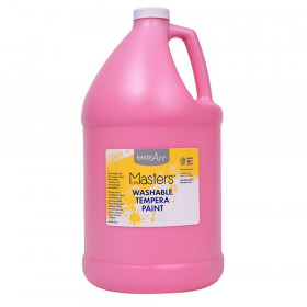 Little Masters Washable Tempera Paint, Pink, Gallon