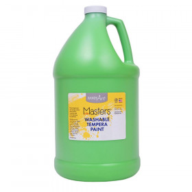 Little Masters Washable Tempera Paint, Light Green, Gallon