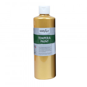 Metallic Tempera Paint, 16 oz., Gold