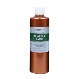 Metallic Tempera Paint, 16 oz., Copper