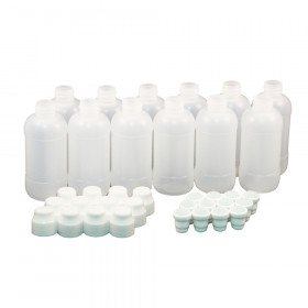 Marker Bottles 2oz/59ml, Dauber Tips & Caps, Bag of 12