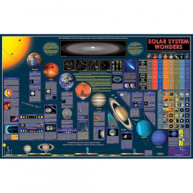 Wonders of the Solar System Space Chart