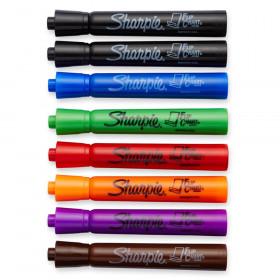 Marker Set Flip Chart 8 Color Blk Rd Blu Grn Yllw Brwn Prpl