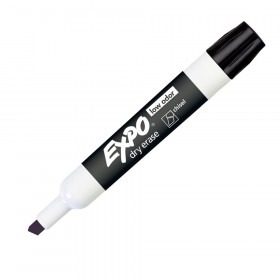 Expo 2 Low Odor Dry Erase Marker Chisel Tip Black
