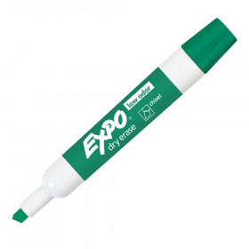 Expo 2 Low Odor Dry Erase Marker Chisel Tip Green