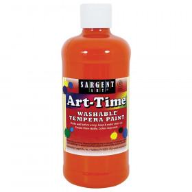 Orange Art-Time Washable Paint - 16 oz.