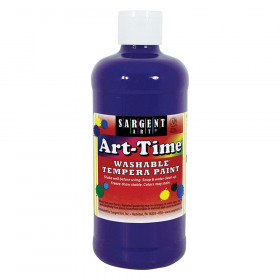 Violet Art-Time Washable Paint - 16 oz.