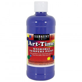 Blue Art-Time Washable Paint - 16 oz.