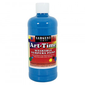 Turq Blue Art-Time Washable Paint - 16 oz.
