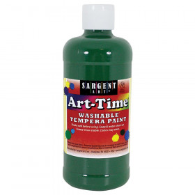 Green Art-Time Washable Paint 16 Oz