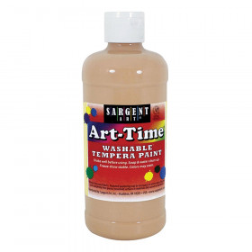 Peach Art-Time Washable Paint 16 Oz