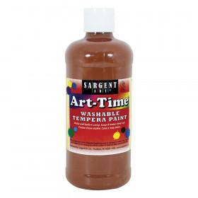 Brown Art-Time Washable Paint - 16 oz.