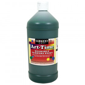 Green Art-Time Washable Paint - 32 oz.
