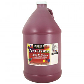 Art-Time Washable Tempera Paint, Magenta, Gallon