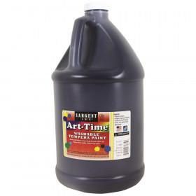 Black Art-Time Washable Paint Glln