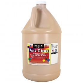 Art-Time Washable Tempera Paint, Peach, Gallon