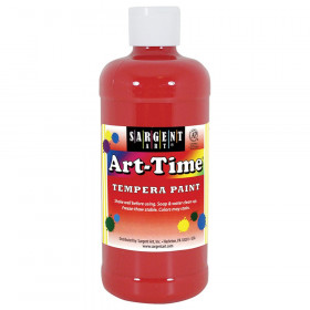 Red Art-Time Paint 16 oz