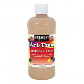 Art-Time Tempera Paint, 16oz., Peach