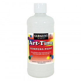 White Art-Time Paint 16 oz
