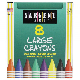 Crayons Large Tuck Box 8 Count