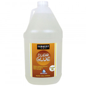 Washable Clear Glue, 128oz