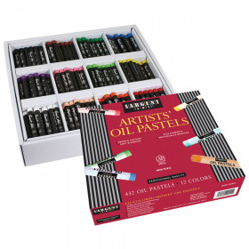 Standard Size Oil Pastel Assortment, 432 Count