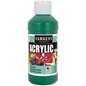 Sargent Art Acrylic Paint, 8 oz., Green