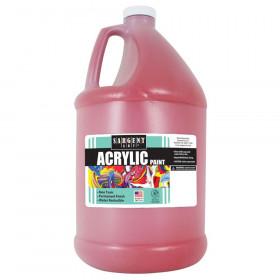 Acrylic Paint, Red, 64 oz. Bottle