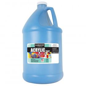 Acrylic Paint, Turquoise, 64 oz. Bottle