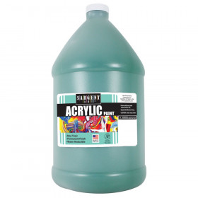 Acrylic Paint, Green, 64 oz. Bottle