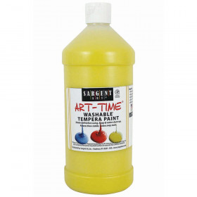 Yellow Washable Tempera Paint 32Oz