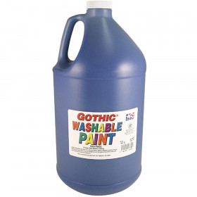 Washable Tempera Turquoise Gallon