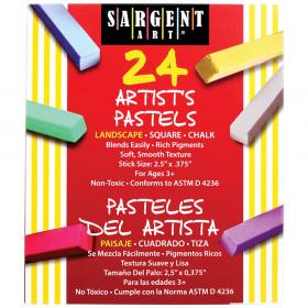 Sargent Art Sq Chalk 24 Landscape