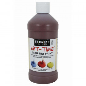 Brown Tempera Paint 16Oz