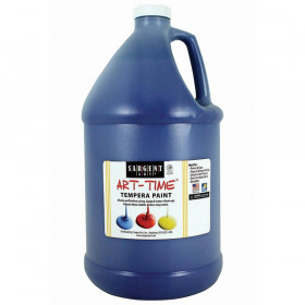 Blue Tempera Paint Gallon