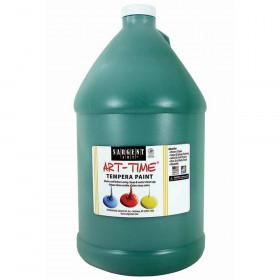 Green Tempera Paint Gallon