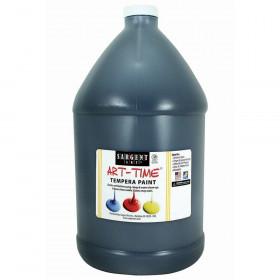 Black Tempera Paint Gallon