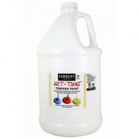 White Tempera Paint Gallon