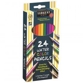 Sargent Art Watercolor Pencils, 24 Colors