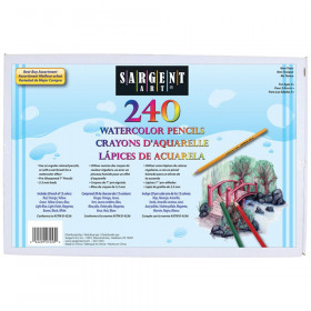 Watercolor Pencils, Assorted Colors, Pack of 240