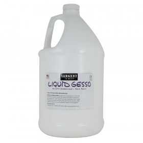 Extra Thick Liquid Gesso Acrylic Undercoat, 1 gal.