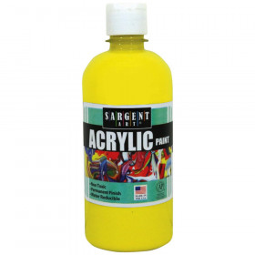 Yellow 16 oz. Squeeze Bottle