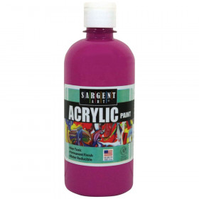Magenta 16 oz. Squeeze Bottle