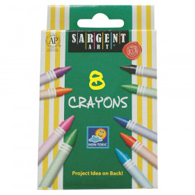 Crayons, Reg Size, 8 Colors