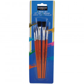 5 Count Quality Brush Asst.